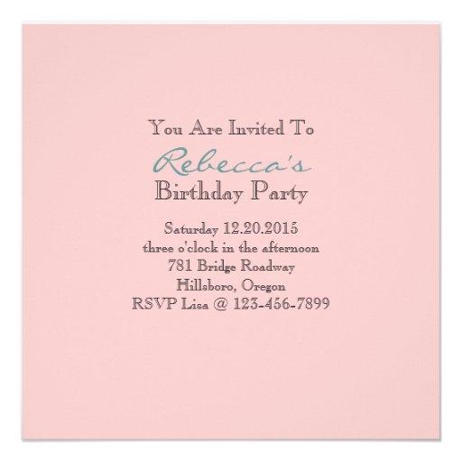 marie antoinette tea pot floral birthday party custom invites (back side)