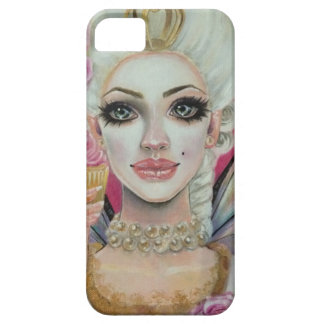 Marie Antoinette - the cupcake queen iPhone SE/5/5s Case