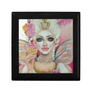 Marie Antoinette - the cupcake queen Jewelry Box