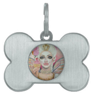 Marie Antoinette - the cupcake queen Pet Name Tag