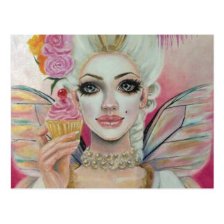 Marie Antoinette - the cupcake queen Postcard