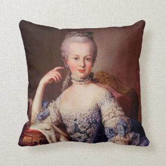 Marie Antoinette Throw Pillow