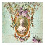 Marie Antoinette Versailles Ancient Gardens Custom Invitations