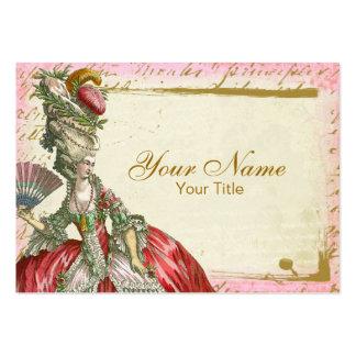 Marie Antoinette Versailles Business Card Template
