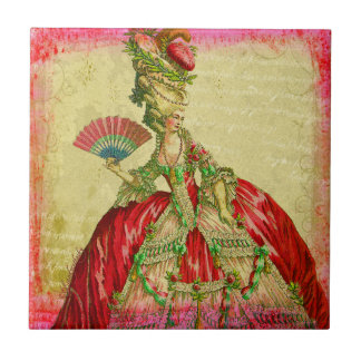 """Marie Antoinette """"Versailles Collection"""" Art Tile"""