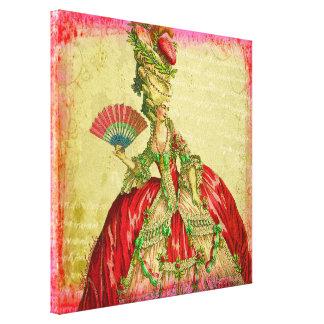 Marie Antoinette Versailles Collection Canvas