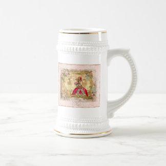 Marie Antoinette Versailles Party Pink Coffee Mug