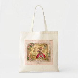 Marie Antoinette Versailles Party Pink Roses Bag