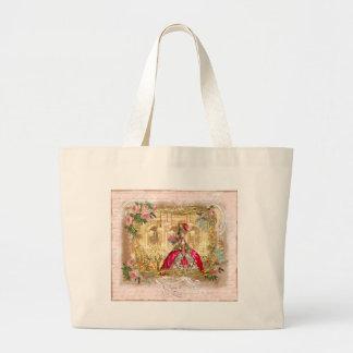 Marie Antoinette Versailles Party Pink Tote Bag