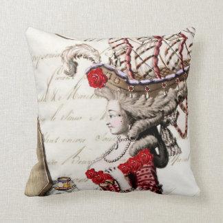 Marie Antoinette Vintage French Decorative Pillow
