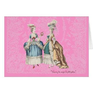 Marie Antoinette Vintage Series - ... - Customized Card