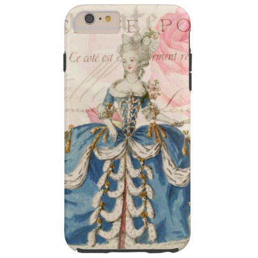 Marie Antoinette Vintage Vibe iPhone 6 Plus case