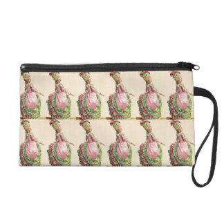 Marie Antoinette Wallet Purse Wristlet Clutches