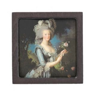 Marie Antoinette with a Rose, 1783 Jewelry Box
