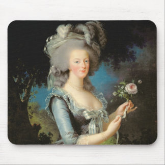 Marie Antoinette with a Rose, 1783 Mouse Pad