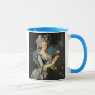 Marie Antoinette with a Rose, 1783 Mug