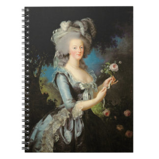 Marie Antoinette with a Rose, 1783 Spiral Note Book
