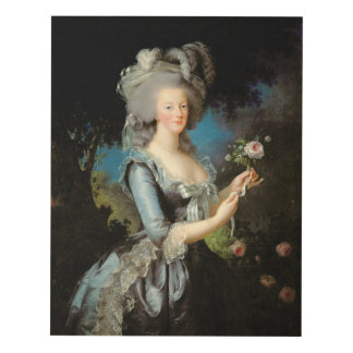 Marie Antoinette with a Rose, 1783 Panel Wall Art