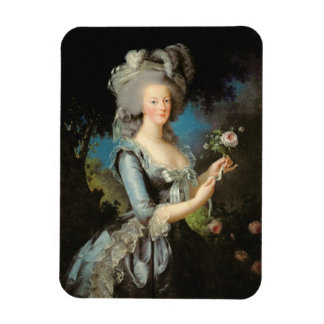 Marie Antoinette with a Rose, 1783 Vinyl Magnet