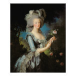 Marie Antoinette with a Rose, 1783 Print