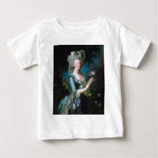 Marie-Antoinette with the Rose by Elisabeth Lebrun Baby T-Shirt