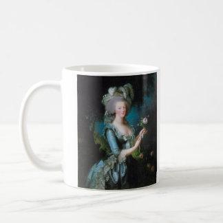 Marie-Antoinette with the Rose by Elisabeth Lebrun Coffee Mug