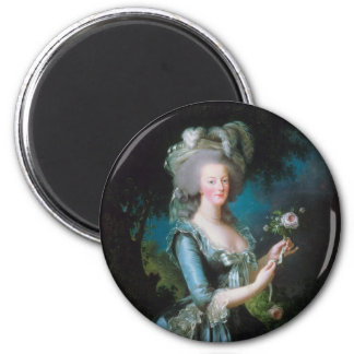 Marie-Antoinette with the Rose by Elisabeth Lebrun Magnet
