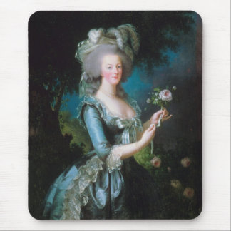 Marie-Antoinette with the Rose by Elisabeth Lebrun Mouse Pad