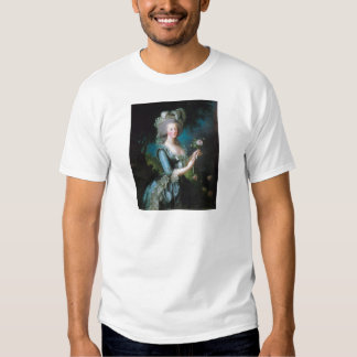 Marie-Antoinette with the Rose by Elisabeth Lebrun T-Shirt