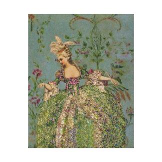 Marie Antoinette ~ Wrapped Canvas #16 Canvas Print