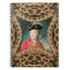 Marie Antoinette Youth Baroque  Monogram Notebook
