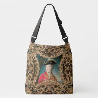 Marie Antoinette Youth Girly Baroque Crossbody Bag