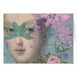 Marie AntoinetteFrench Masquerade Greeting Cards