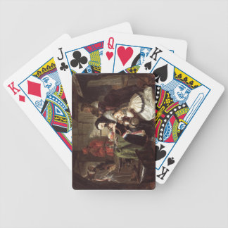 Marie-Antoinette's (1753-93) Final Adieu to the Da Bicycle Playing Cards