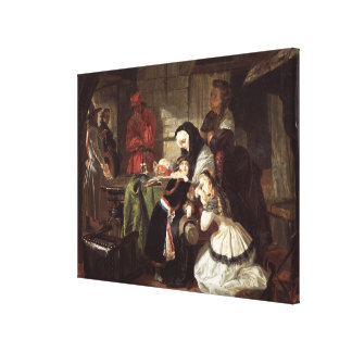 Marie-Antoinette's (1753-93) Final Adieu to the Da Gallery Wrapped Canvas