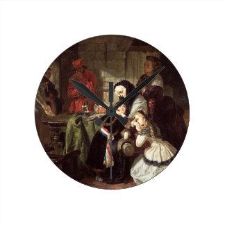 Marie-Antoinette's (1753-93) Final Adieu to the Da Round Clocks