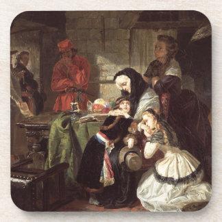 Marie-Antoinette's (1753-93) Final Adieu to the Da Beverage Coaster