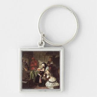 Marie-Antoinette's (1753-93) Final Adieu to the Da Keychain
