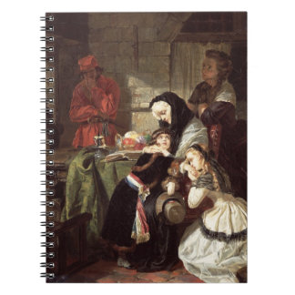 Marie-Antoinette's (1753-93) Final Adieu to the Da Note Book