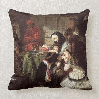 Marie-Antoinette's (1753-93) Final Adieu to the Da Throw Pillows
