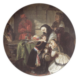 Marie-Antoinette's (1753-93) Final Adieu to the Da Dinner Plates