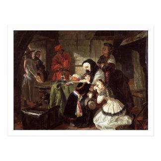 Marie-Antoinette's (1753-93) Final Adieu to the Da Postcard