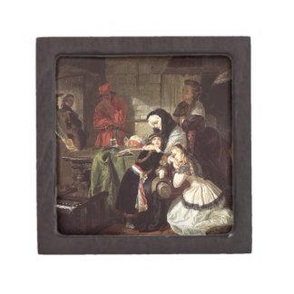 Marie-Antoinette's (1753-93) Final Adieu to the Da Premium Jewelry Box