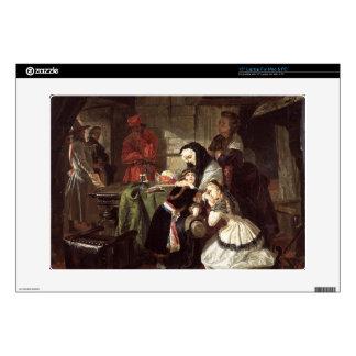 "Marie-Antoinette's (1753-93) Final Adieu to the Da 15"" Laptop Skin"