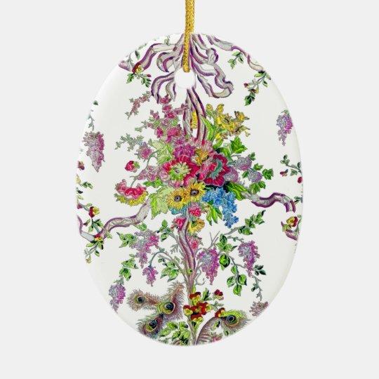 Marie Antoinette's Boudoir Ceramic Ornament