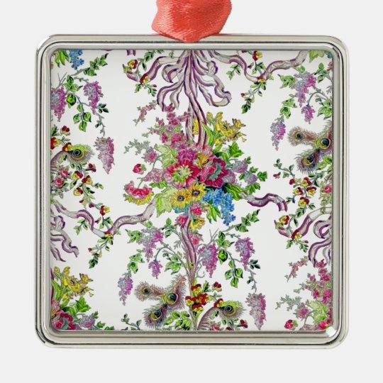 Marie Antoinette's Boudoir Metal Ornament