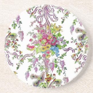 Marie Antoinette's Boudoir Sandstone Coaster