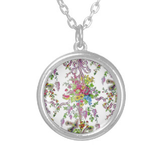 Marie Antoinette's Boudoir Silver Plated Necklace