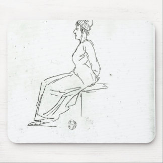 Marie-Antoinette's way to her execution Mouse Pad