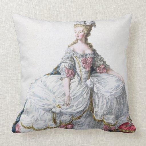 Marie Antonieta (1752-93) de 'DES Estam de Receuil Cojín Decorativo